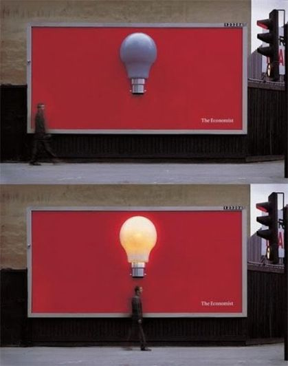 Bright Ideas for an Interactive Display