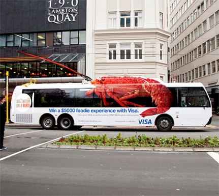 VISA Lobster Trolleybus